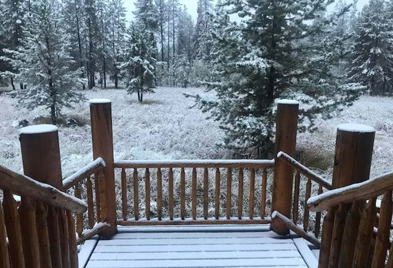 Blog Post: There's snow and ice all over my deck. What should I do?